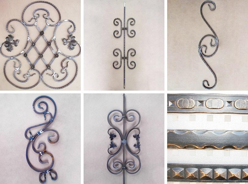 Изготовление кованых элементов и балясин в Севастополе, Крыму
