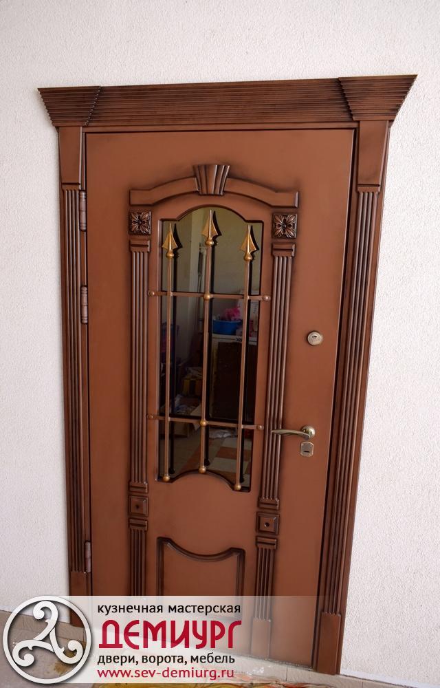 Двери входные металлические Севастополь