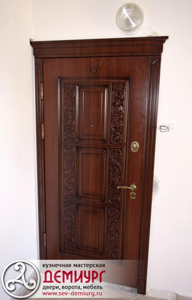 Купить металлическую дверь в Севастополе