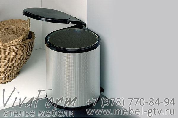 Поворотное ведро для мусора