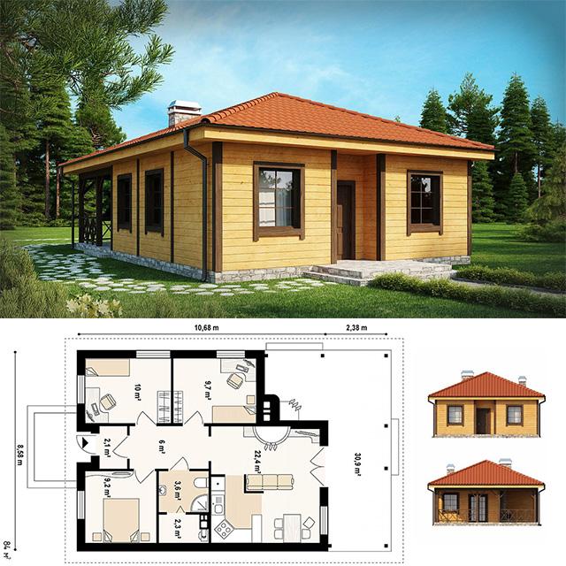Севастополь каркасные дома проекты цены