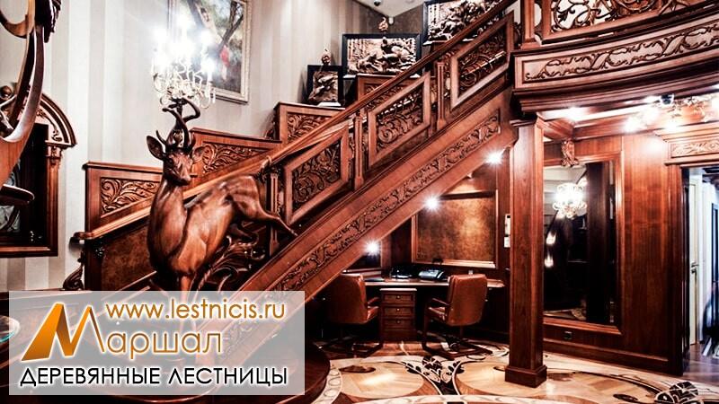 Премиум лестница на второй этаж Севастополь