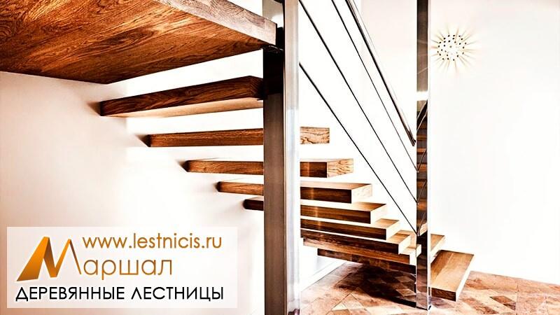 Лестница на заказ Севастополь с тросами