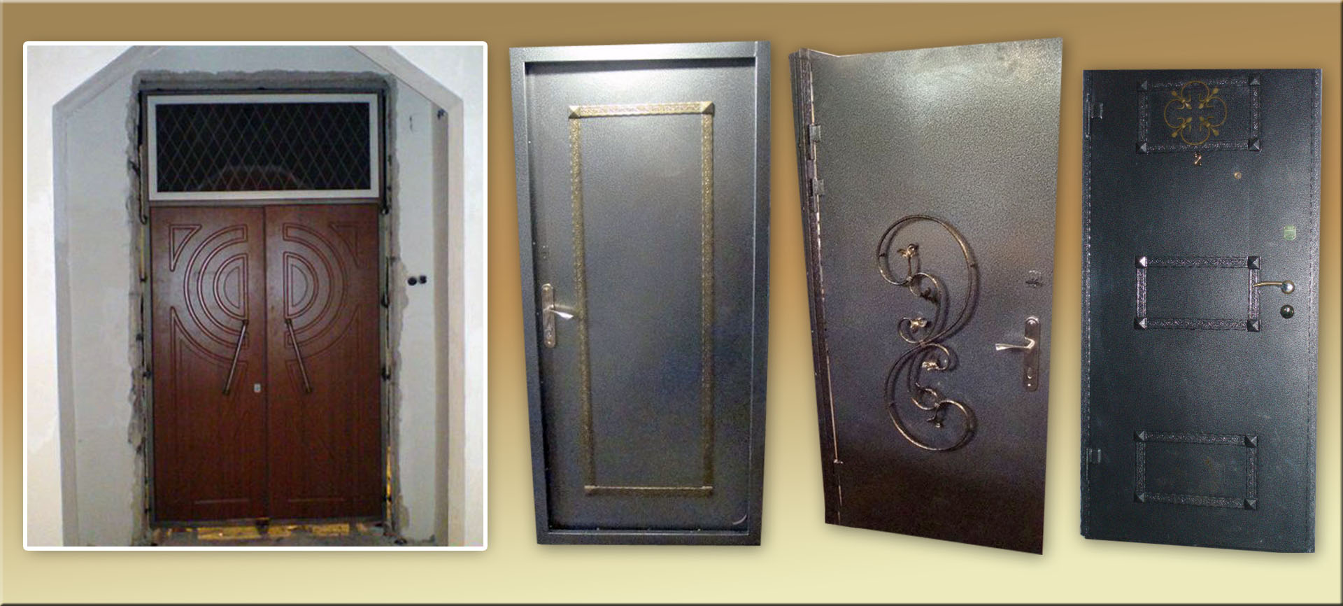 Как сделать дверь железную своими руками
