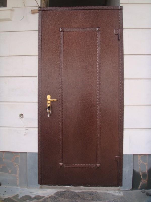 металлические двери сзао